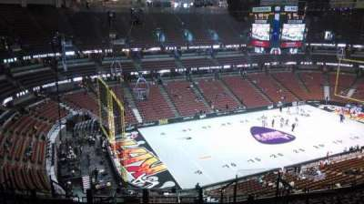 Honda Center, Abschnitt: 417, Reihe: M, Platz: 8