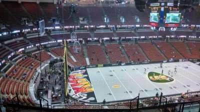 Honda Center, Abschnitt: 416, Reihe: M, Platz: 8