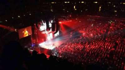 Capital One Arena, Abschnitt: 400, Reihe: h, Platz: 19