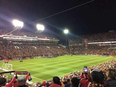 Bobby Dodd Stadium, Abschnitt: 131, Reihe: 29, Platz: 10