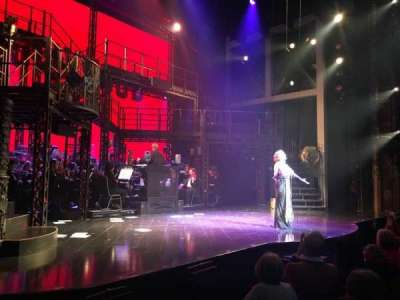 Palace Theatre (Broadway), Abschnitt: Orchestra, Reihe: D, Platz: 1