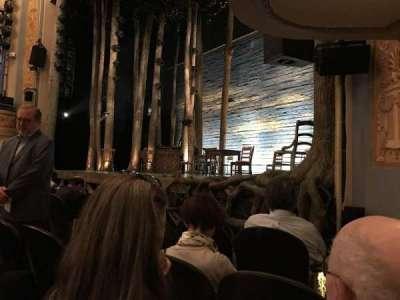Gerald Schoenfeld Theatre, Abschnitt: Orchestra-Partial View, Reihe: D, Platz: 14