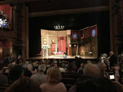 Lyceum Theatre (Broadway), Abschnitt: Orchestra, Reihe: O, Platz: 104