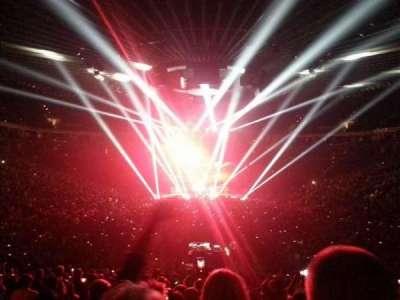 Oracle Arena, Abschnitt: 108, Reihe: 22, Platz: 2