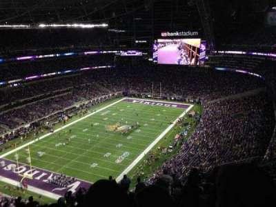 U.S. Bank Stadium, Abschnitt: 321, Reihe: 17