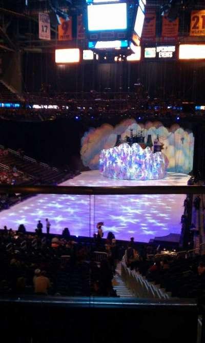 Philips Arena, Abschnitt: 203, Reihe: B, Platz: 2