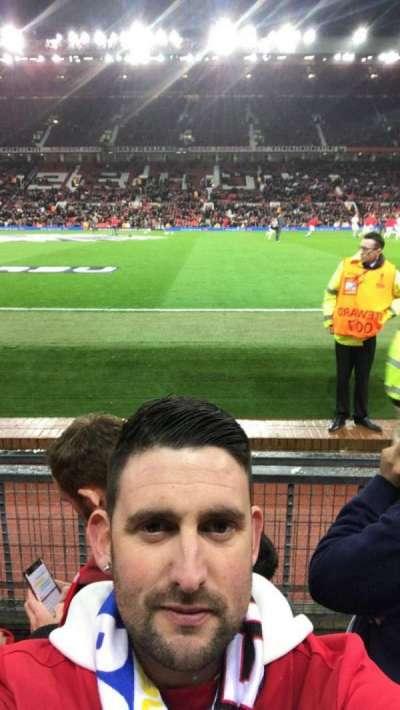 Old Trafford, Abschnitt: Sth, Reihe: Cc, Platz: 178