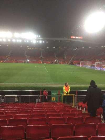 Old Trafford, Abschnitt: North, Reihe: Pp, Platz: 2