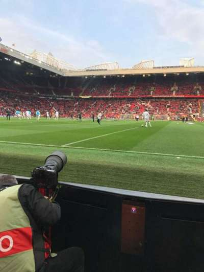 Old Trafford, Abschnitt: W105, Reihe: AA, Platz: 74