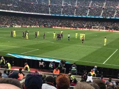 Camp Nou, Abschnitt: Nike Goal, Reihe: 30, Platz: 35