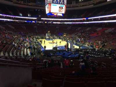 Wells Fargo Center Abschnitt 109