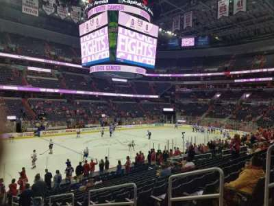 Capital One Arena, Abschnitt: 109, Reihe: S, Platz: 16
