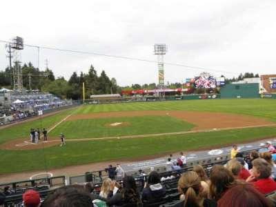 Cheney Stadium, Abschnitt: 7, Reihe: 4, Platz: B