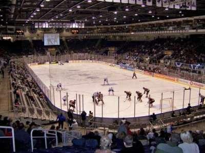 Ricoh Coliseum, Abschnitt: 106, Reihe: P, Platz: 6