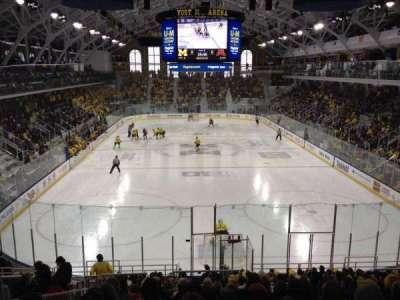 Yost Ice Arena, Abschnitt: 26, Reihe: 17, Platz: 15
