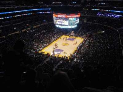 Staples Center, Abschnitt: 307, Reihe: 8, Platz: 13
