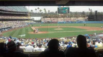 Dodger Stadium, Abschnitt: 8FD, Reihe: y, Platz: 12