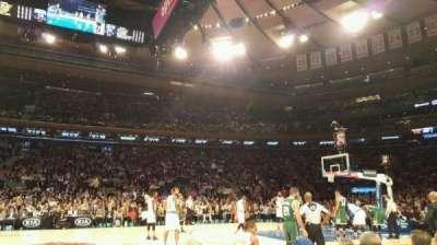Madison Square Garden, Abschnitt: 5, Reihe: 3, Platz: 10