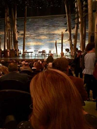 Gerald Schoenfeld Theatre, Abschnitt: Orchestra, Reihe: M, Platz: 114