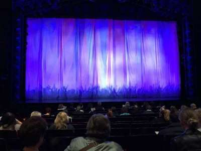Marquis Theatre, Abschnitt: Orchestra, Reihe: K, Platz: 108