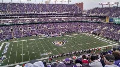 M&T Bank Stadium, Abschnitt: 529, Reihe: 8, Platz: 10