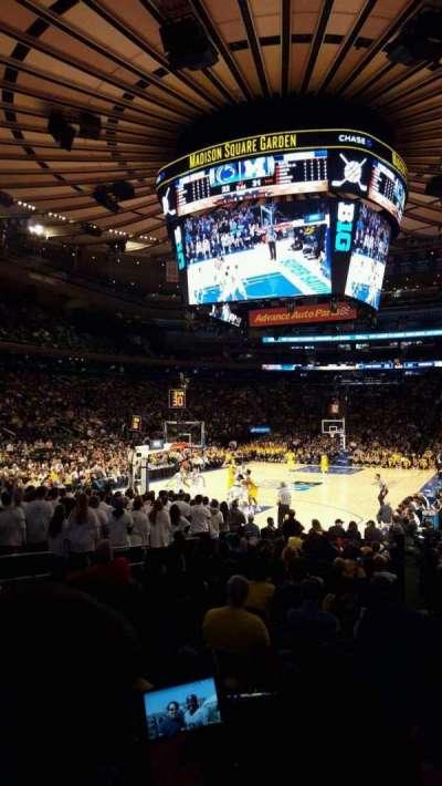 Madison Square Garden, Abschnitt: 103, Reihe: 7, Platz: 14