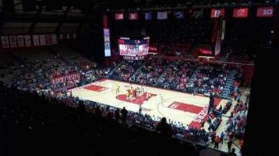 Louis Brown Athletic Center, Abschnitt: 217, Reihe: S, Platz: 4