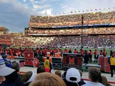 Maryland Stadium, Abschnitt: 25, Reihe: F, Platz: 8