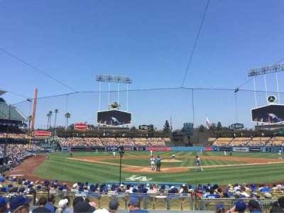 Dodger Stadium, Abschnitt: 2FD, Reihe: K, Platz: 11