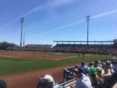 Peoria Sports Complex, Abschnitt: 119, Reihe: E, Platz: 18
