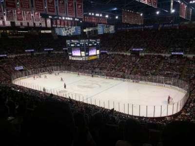 Joe Louis Arena, Abschnitt: 204a, Reihe: 17, Platz: 9