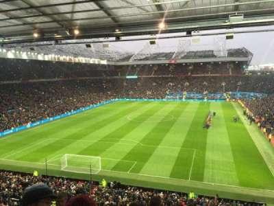 Old Trafford, Abschnitt: W3105, Reihe: 6, Platz: 41