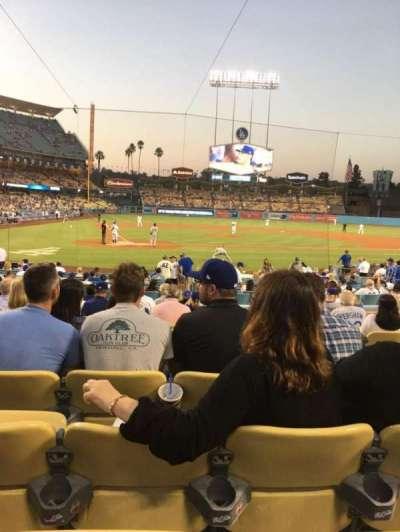 Dodger Stadium, Abschnitt: 8FD, Reihe: M, Platz: 9