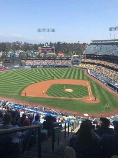 Dodger Stadium, Abschnitt: 9RS, Reihe: T, Platz: 24