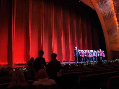 Radio City Music Hall, Abschnitt: Orchestra 6, Reihe: KK, Platz: 604