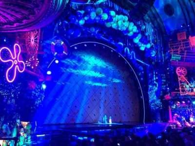 Palace Theatre (Broadway), Abschnitt: Orchestra, Reihe: L, Platz: 1
