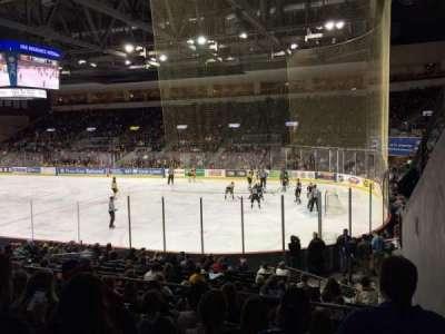 Erie Insurance Arena, Abschnitt: 207, Reihe: Q, Platz: 1