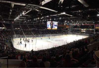 Blue Cross Arena, Abschnitt: 220, Reihe: F, Platz: 12