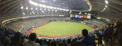 Olympic Stadium, Montreal, Abschnitt: 421, Reihe: 1, Platz: 1