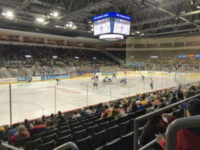 Erie Insurance Arena, Abschnitt: 201, Reihe: L, Platz: 1