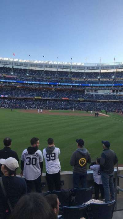 Yankee Stadium, Abschnitt: 134, Reihe: 6, Platz: 3