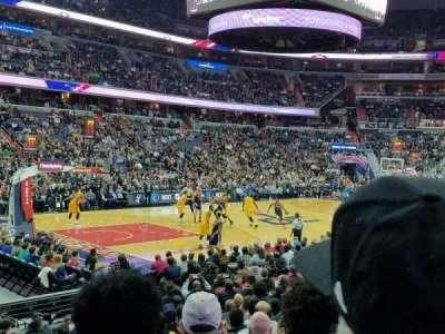 Capital One Arena, Abschnitt: 109, Reihe: N, Platz: 1