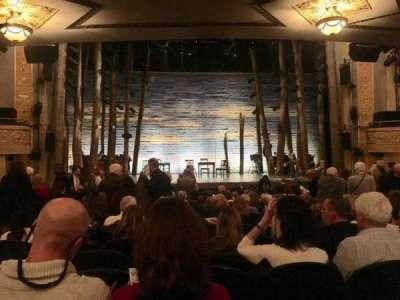 Gerald Schoenfeld Theatre, Abschnitt: Orchestra, Reihe: R, Platz: 105