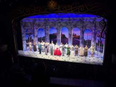 Broadhurst Theatre, Abschnitt: Mezzanine, Reihe: D, Platz: 2