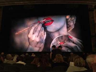 Nederlander Theatre, Abschnitt: Orchestra, Reihe: M, Platz: 103