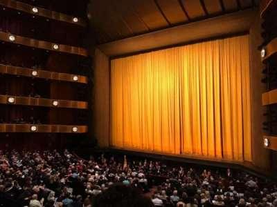 David H. Koch Theater, Abschnitt: 1st Ring, Reihe: B, Platz: 26
