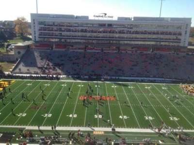 Maryland Stadium, Abschnitt: 306, Reihe: R, Platz: 12