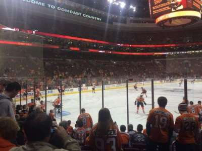 Wells Fargo Center Abschnitt 121