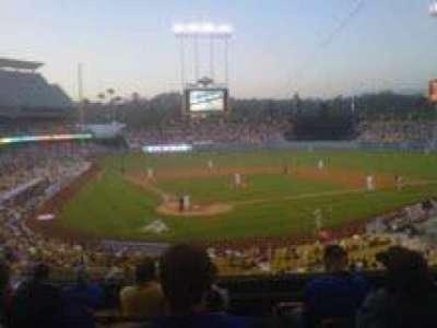 Dodger Stadium, Abschnitt: 110LG, Reihe: G, Platz: 7