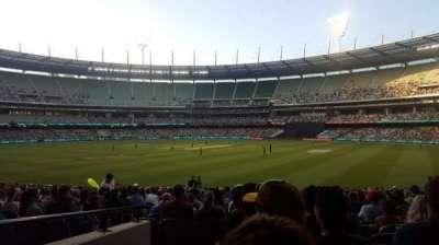 Melbourne Cricket Ground, Abschnitt: 13, Reihe: U, Platz: GA